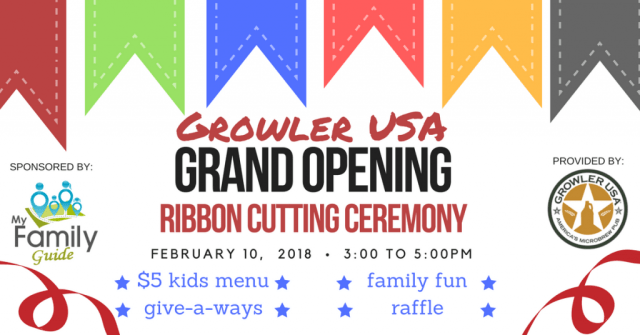 Grand Opening Growler USA