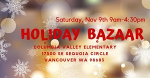 holiday bazaar columbia valley
