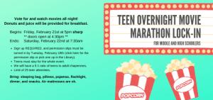 teen over night movie