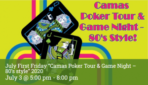 first friday camas 80s game night