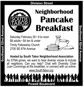 neighborhood pancake breakfast