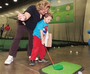 kids golf at portland golf expo