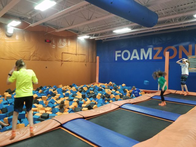 sky zone virtual birthday party