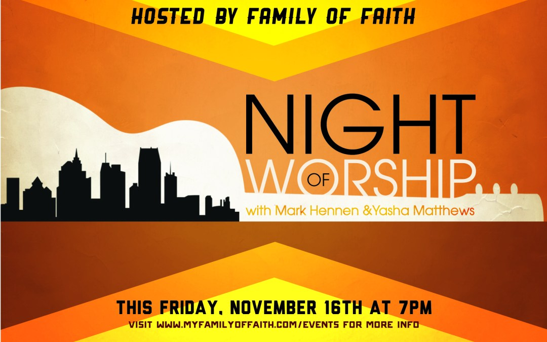 Night of Worship (November)
