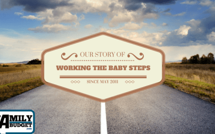 Our story of how we have worked the baby steps since May 2011