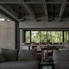 Tropical Living Room In Malaysia Pendant Lighting Box House Kuala Lumpur