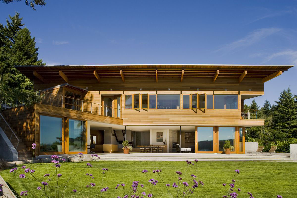 Modern Cedar Park House in Seattle Washington