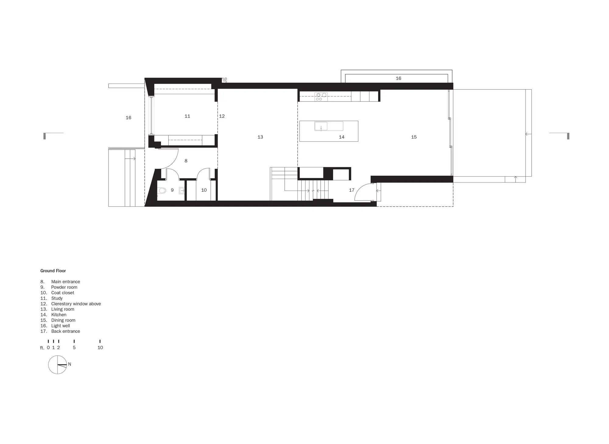 Counterpoint House In Toronto, Ontario, Canada