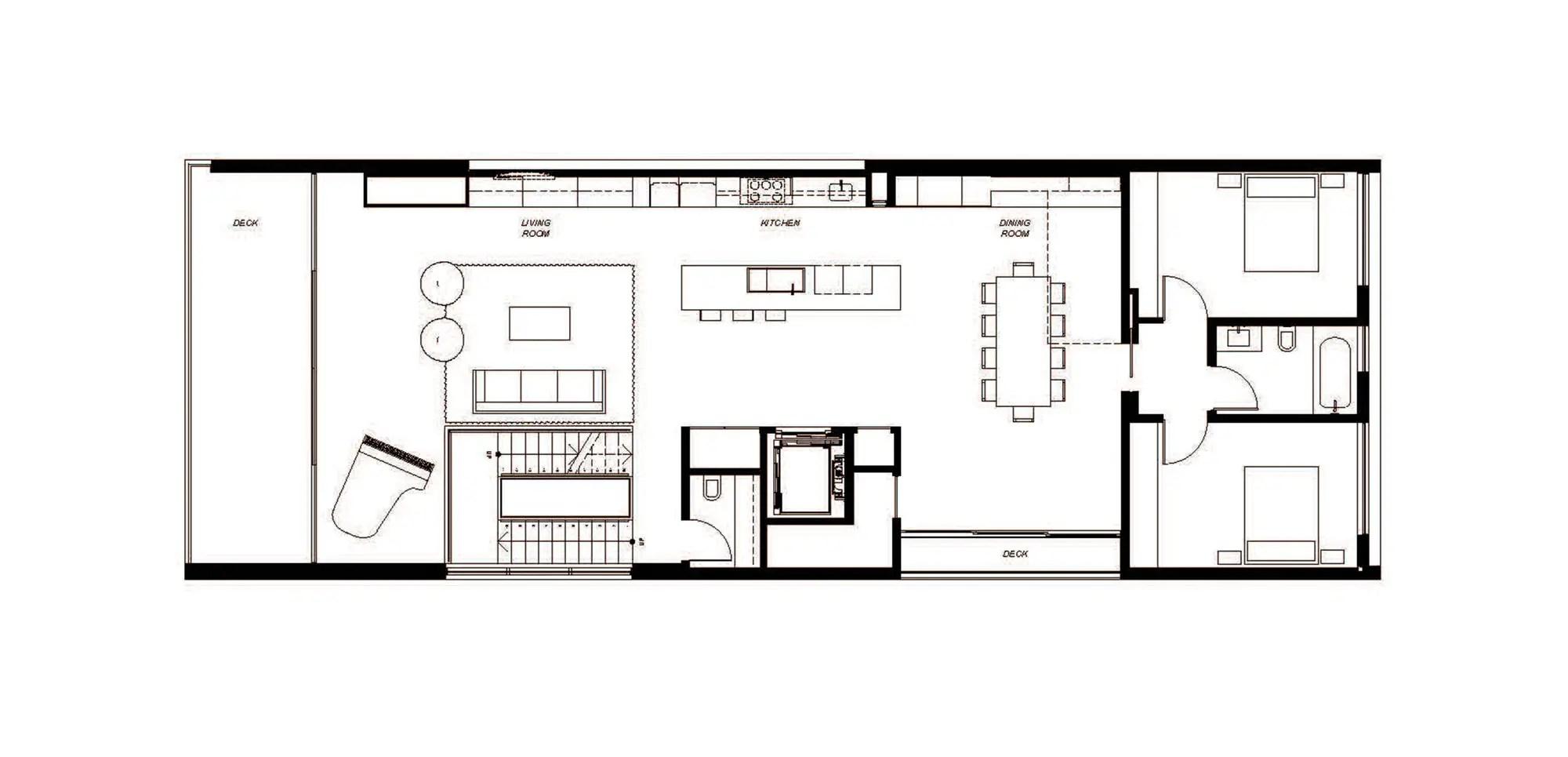 Modern Zig Zag House In Venice Los Angeles Usa 12