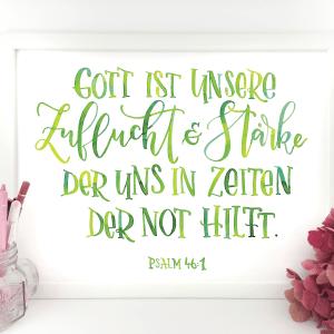 Gott ist unsere Zuflucht