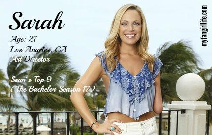 EDIT - Sarah (Bachelor In Paradise)