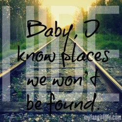 Taylor Swift 1989 Lyrics - I Know Places 1