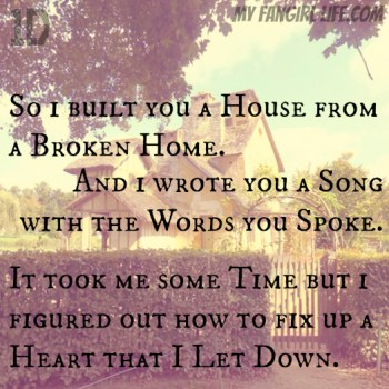 One Direction Four Lyrics - Where Do Broken Hearts Go 2