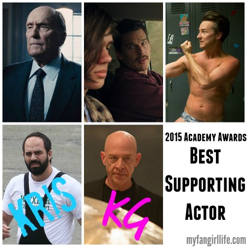 2015 Oscar Nominations Picks Best Supporting Actor