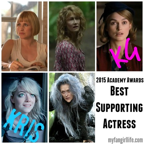 2015 Oscar Nominations Picks Best Supporting Actress