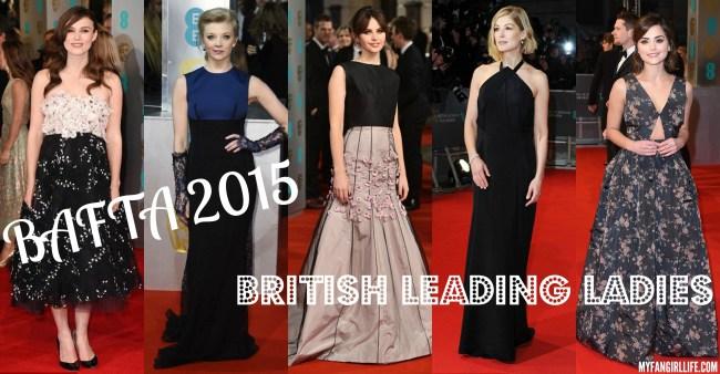BAFTA 2015 - British Leading Ladies