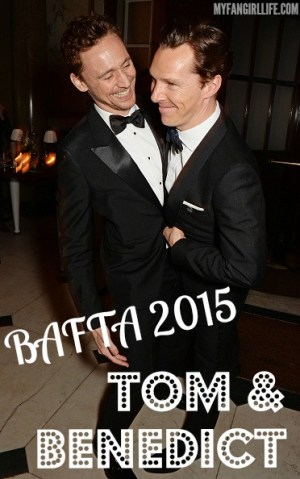 BAFTA 2015 - Tom Hiddleston & Benedict Cumberbatch