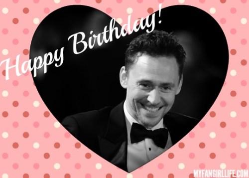 Happy Birthday Tom Hiddleston