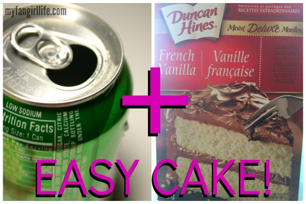 My Fangirl Life Easy Cake