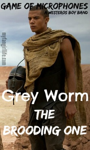 Game of Thrones Boy Band Grey Worm