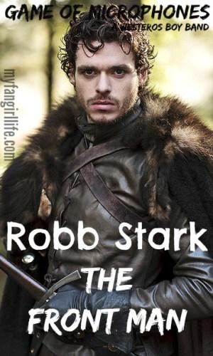 Game of Thrones Boy Band Robb Stark