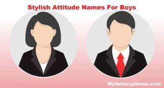 Stylish Attitude Names For Instagram For Boys and Girls