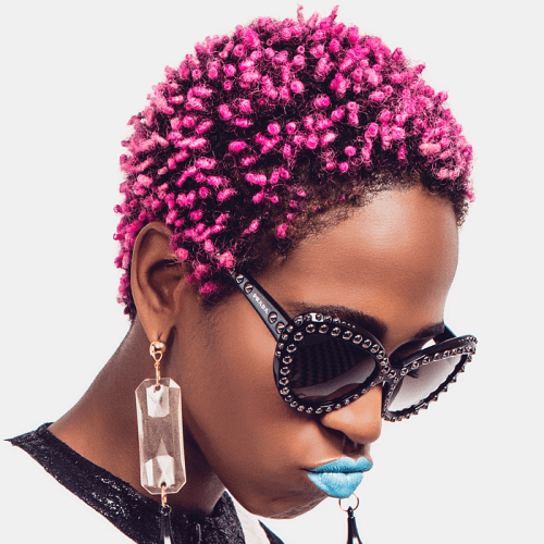 How To Look Good With Short Natural Afro Hair My Fashion S Ash Life