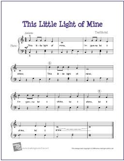 free printable sheet music for piano # 17