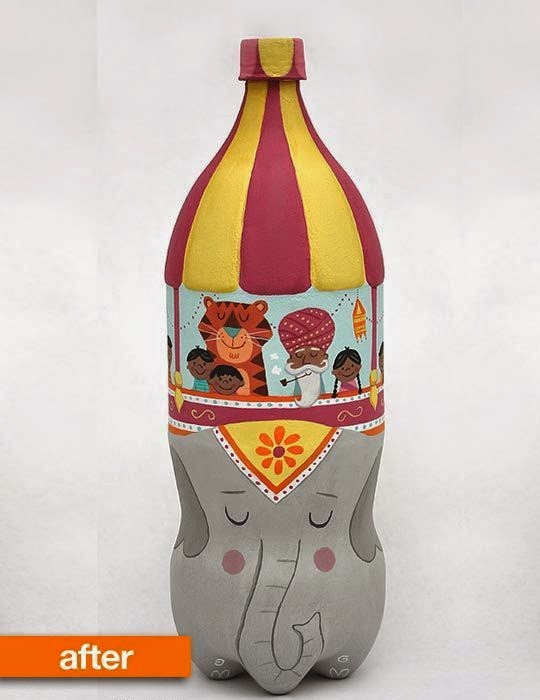Aneka Gambar Kerajinan dari Botol Bekas  My Favorite