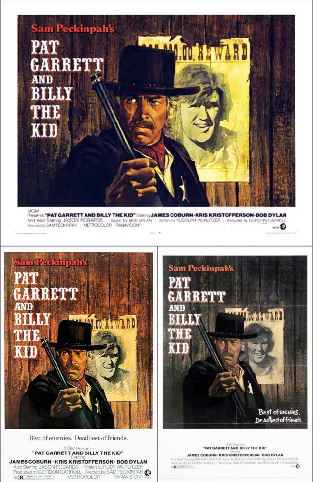 pat garrett and billy the kid posters 1