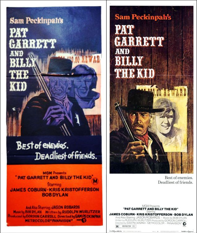 pat garrett and billy the kid posters 2