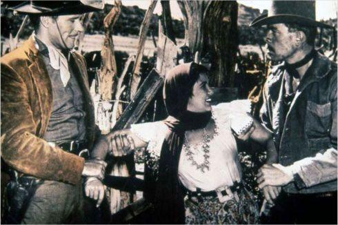 Gun Fury - Lee Marvin (right)