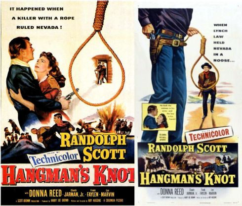 lee marvin hangman's knot posters