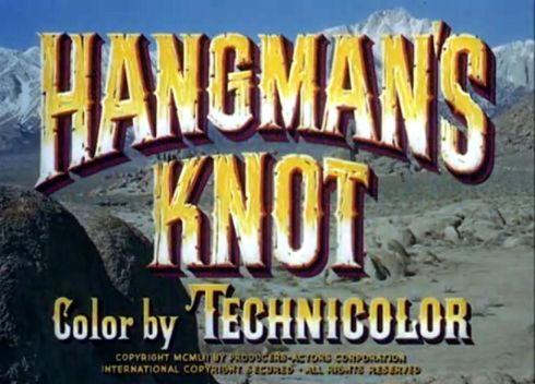 lee marvin hangman's knot