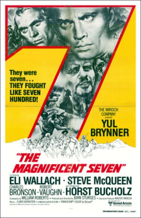 The Magnificent Seven - 1960 - poster