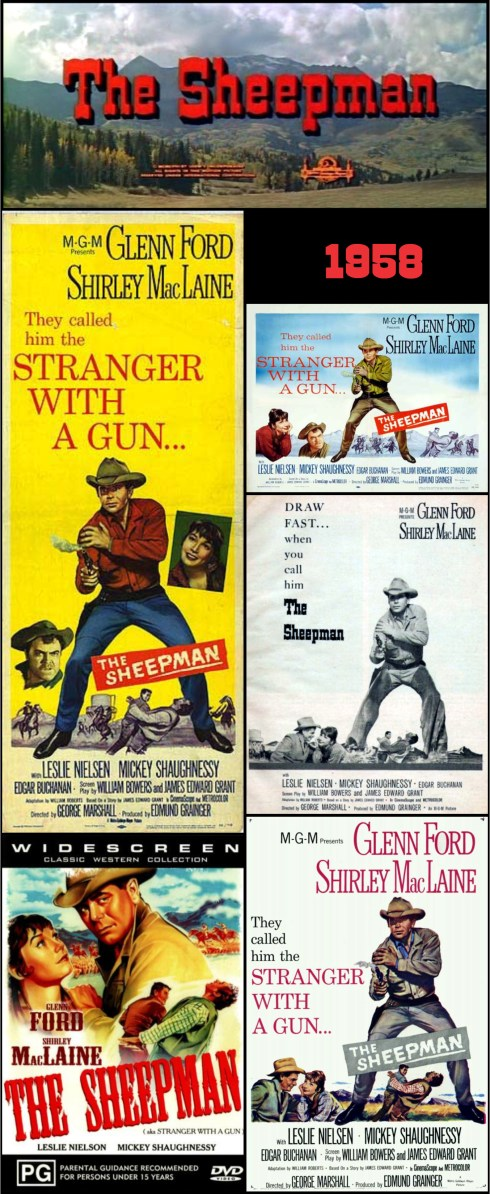 The Sheepman posters
