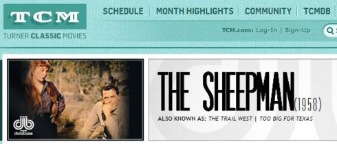The Sheepman tcm