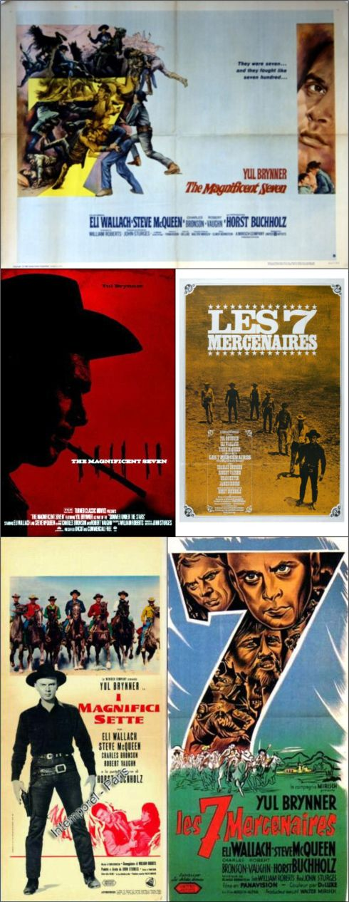 magnificent seven posters 3