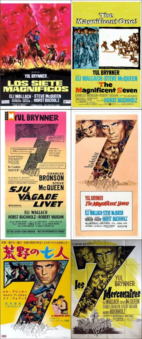 magnificent seven posters 5