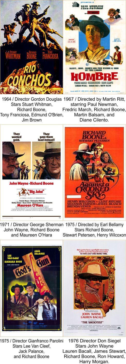 Richard Boone Filmography 3