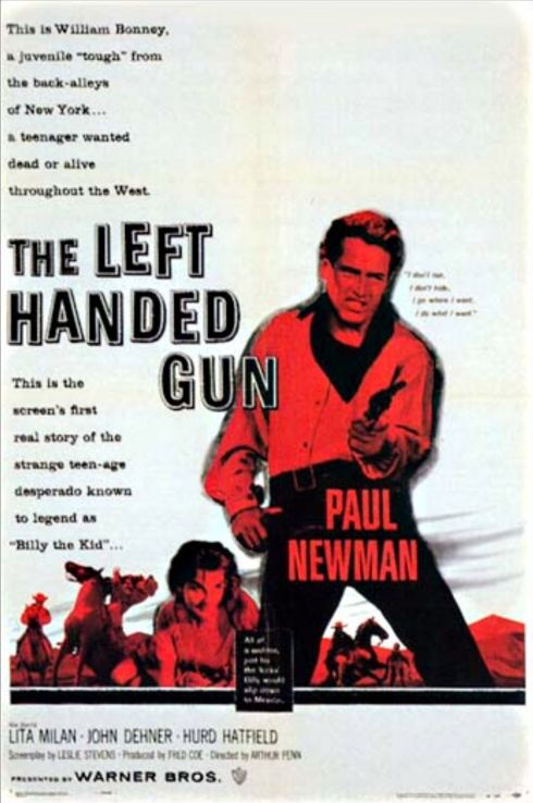 The Left Handed Gun poster 2