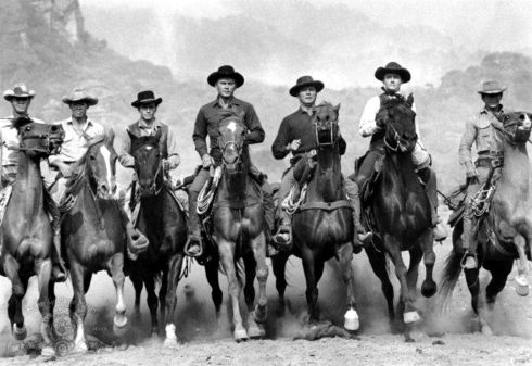 THE MAGNIFICENT 7 riding