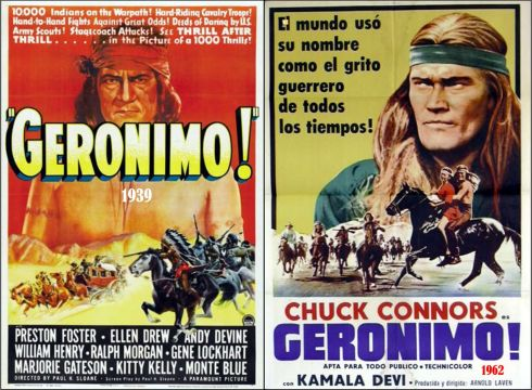 GERONIMO MOVIE POSTERS