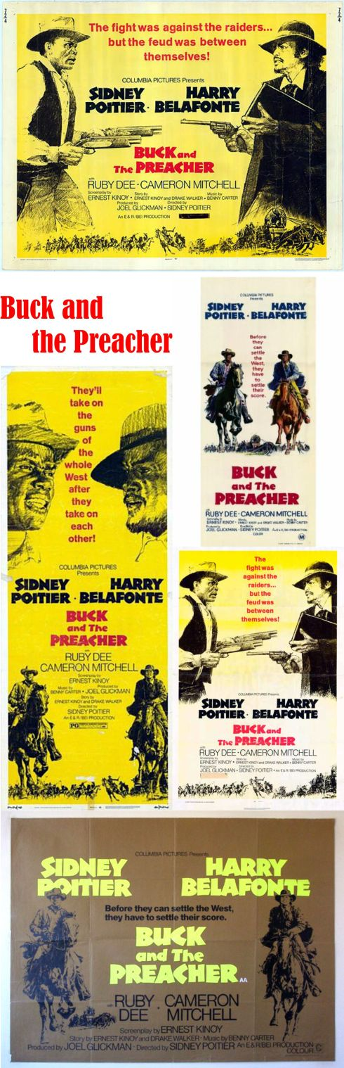 Buck and the Preacher posters 1
