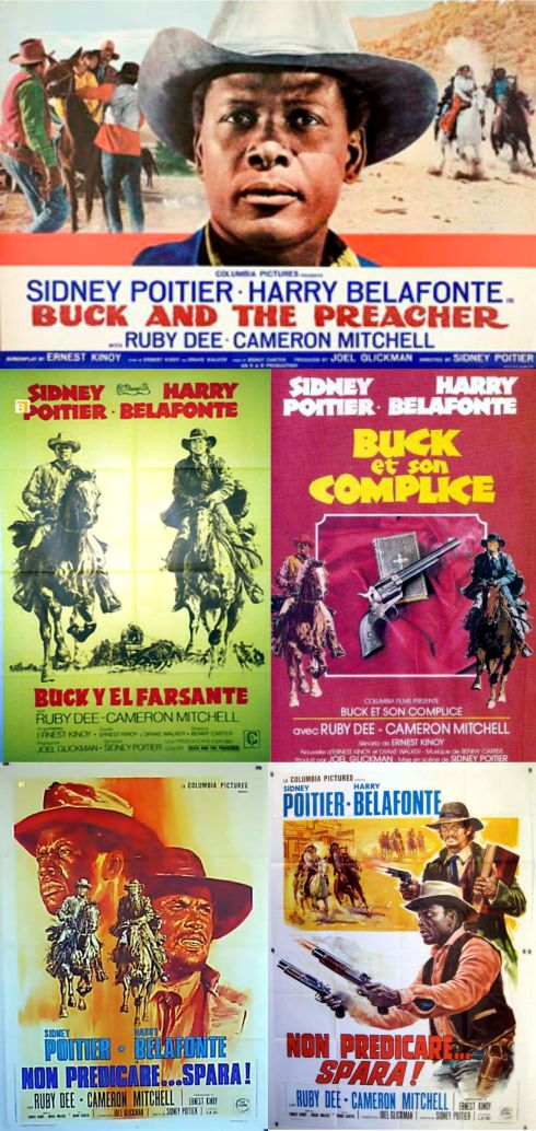 Buck and the Preacher posters 2