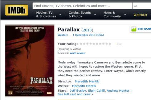 PARALLAX IMDB