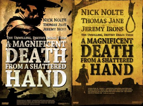 SHATTERED HAND POSTERs