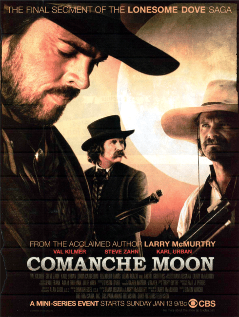 Commanche Moon poster