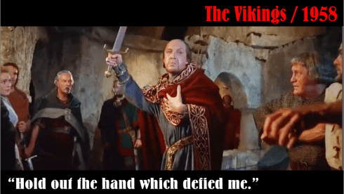 Frank Thring - The Vikings