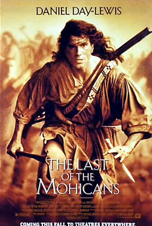 The Last of the Mohicans original poster